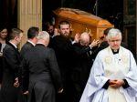 Na pohreb zavraždenej novinárky prišli britskí aj írski lídri