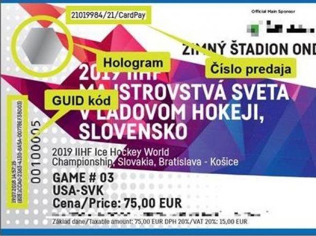 56845108c2301 Polícia upozorňuje na falošné vstupenky na majstrovstvá sveta v ľadovom  hokeji