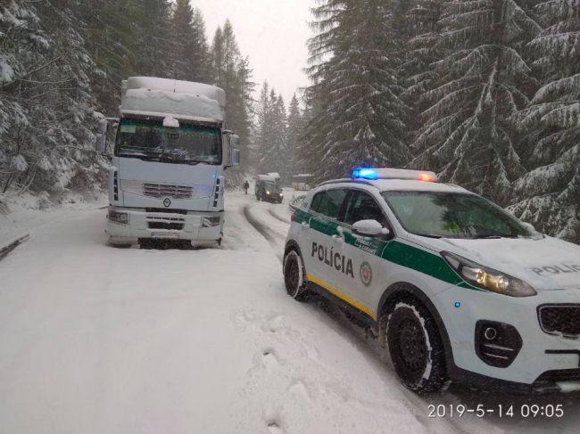 Májový sneh: Na severe Slovenska napadlo rekordné množstvo snehu