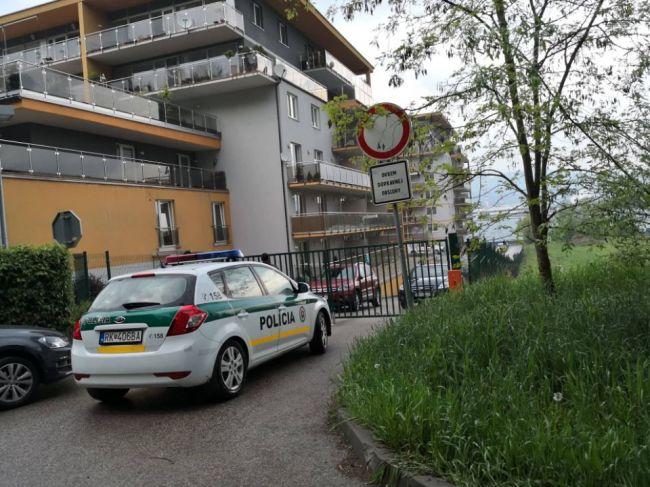 Na žilinskom sídlisku došlo k vražde, páchateľ utiekol z miesta činu
