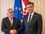 Juncker: Chorvátsko je pripravené na prijatie eura