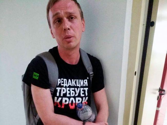 Ruského investigatívneho novinára Ivana Golunova zbavili obvinení