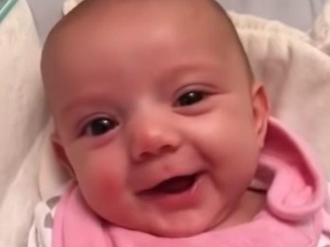 Video: Krásne vyznanie len 8-týždňového bábätka