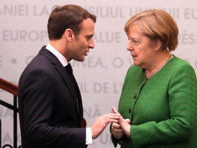 Macron by podporil Merkelovú ako šéfku Európskej komisie