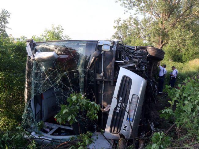 Nehoda slovenského autobusu v Maďarsku: Väčšinu posádky tvorili deti