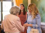 Čaputová vie, čo trápi seniorov, skonštatovali hostia po slávnostnom obede