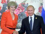 Británia a Rusko zvažujú stretnutie Mayová - Putin