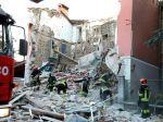 Pri výbuchu v talianskom meste zahynuli tri osoby