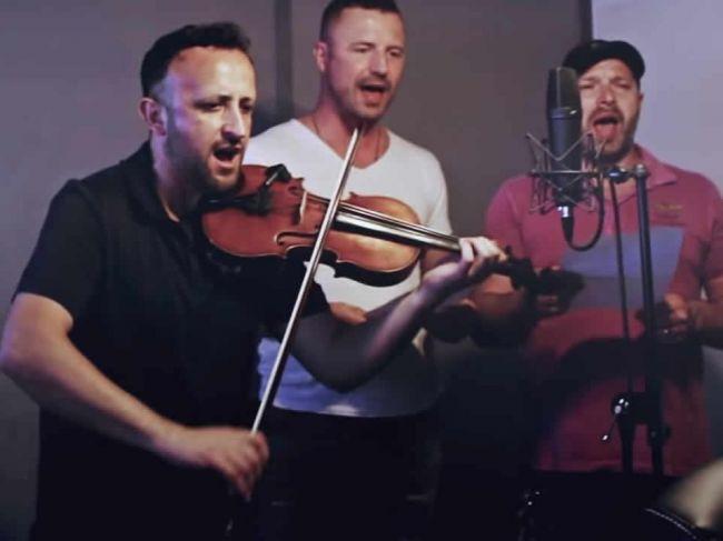 Kandráčovci a Kollárovci nahrali spoločnú pieseň Chlapci spod Tatier