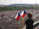 Okolo 250.000 ľudí sa zhromaždilo na protivládnom proteste v Prahe