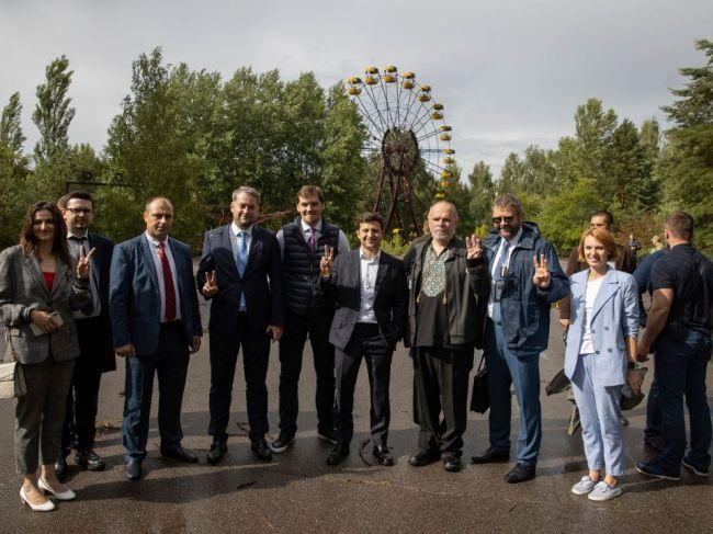 Zelenskyj chce prilákať turistov do černobyľskej zóny
