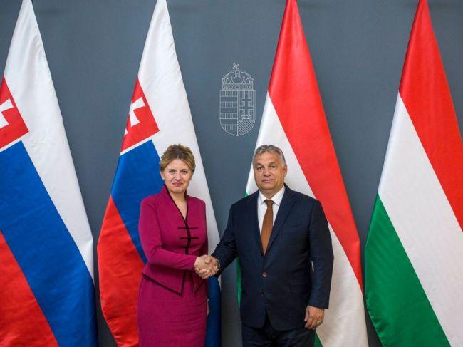 Viktor Orbán reagoval na Čaputovej postoje počas návštevy Budapešti