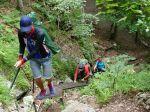 Horskí záchranári pomáhali mužovi s tromi deťmi v Slovenskom raji