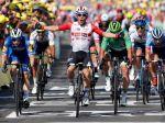 Tour de France: Sagan pokoril rovinatú etapu medzi prvými