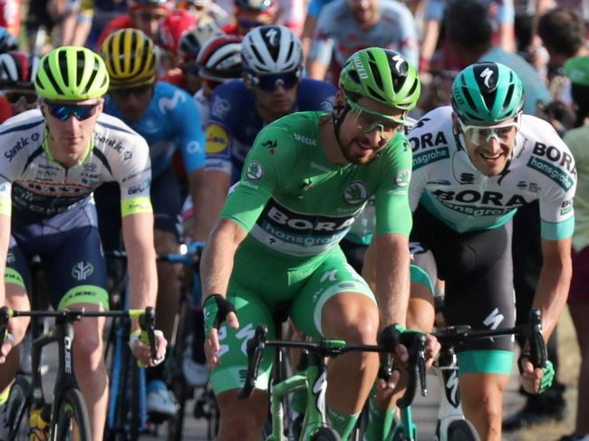 Sagan získal 7. zelený dres:
