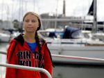 Aktivistka Thunbergová pocestuje do USA na jachte bez spŕch či toalety