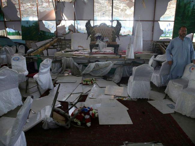 Islamský štát tvrdí, že podnikol útok na svadbe v Kábule