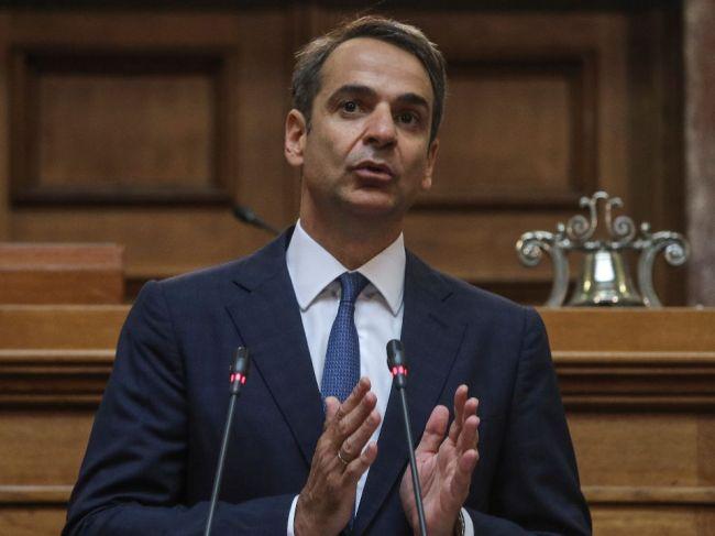 Grécky premiér Mitsotakis chce znížiť dane a podporiť rast ekonomiky