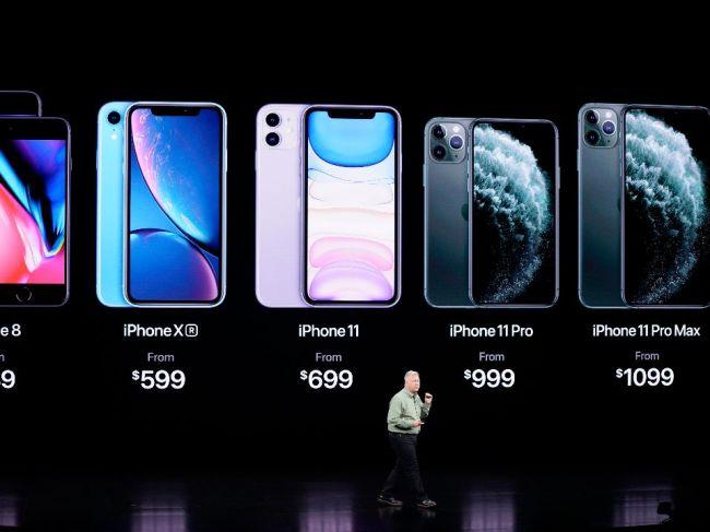 Apple predstavil nové iPhony 11