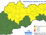 SHMÚ varuje pred prízemným mrazom vo väčšine krajov Slovenska