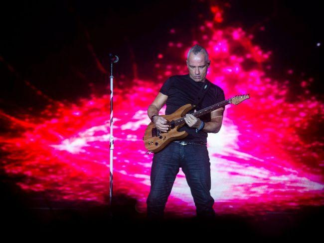 Eros Ramazzotti nadelil Bratislave veľkú dávku talianskeho temperamentu