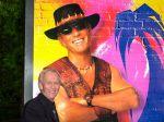 Herec Paul Hogan, alias Krokodíl Dundee, jubiluje