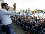 V Ríme sa zišli tisíce Salviniho sympatizantov, žiadali demisiu vlády