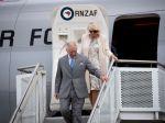 Princ Charles s manželkou Camillou prišli na návštevu Nového Zélandu