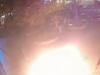VIDEO: Muž sa zapálil v centre Bratislavy