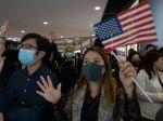 Peking chce po amerických zákonoch o ľudských právach v Hongkongu vrátiť úder