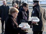 Merkelová: Nezabudnúť na zločiny nacistov je súčasťou nemeckej identity