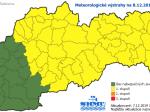 SHMÚ: Poľadovica potrvá na východnom a strednom Slovensku do nedele
