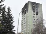 Hasiči ukončili zásah v bytovom dome, jedna osoba je nezvestná