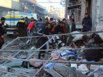 Sýria: Počet mŕtvych civilistov pri leteckých útokoch vzrástol na 20