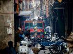India: Požiar v centre hlavného mesta si vyžiadal 43 životov
