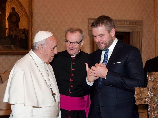 Pellegrini: Z pápeža ide veľká charizma, bavili sme sa ľudsky a otvorene