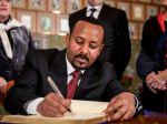 Etiópsky premiér Abiy Ahmed Ali prevzal Nobelovu cenu za mier