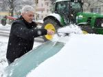 SHMÚ: Na týchto miestach Slovenska bola snehová pokrývka vo väčšom rozsahu