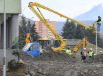 Prešovský bytový dom po výbuchu plynu bude búrať technika z Česka