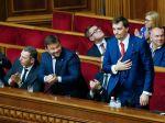 V ukrajinskom parlamente sa strhla bitka