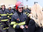 Saková ocenila hasičov zasahujúcich po výbuchu plynu