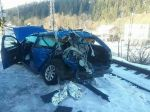 Tragická zrážka auta s rýchlikom v Čiernom si vyžiadala ľudský život