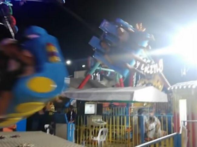 Video: Jazda na kolotoči mala desivý záver