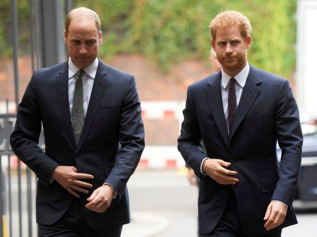 Princovia William a Harry odmietli