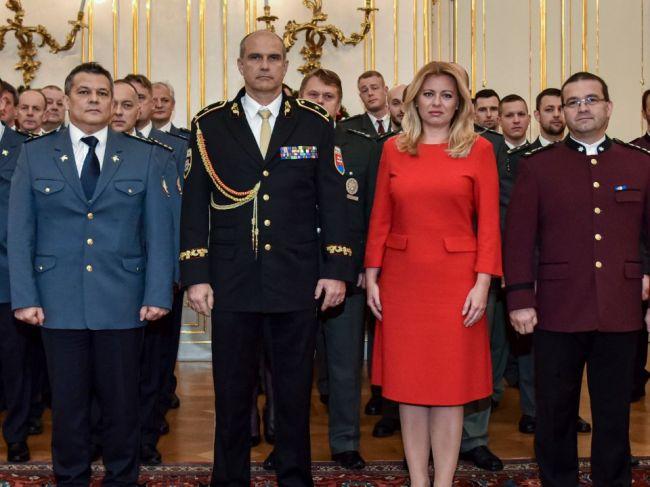 Prezidentka Čaputová vyzdvihla prácu policajtov, hasičov a záchranných zložiek