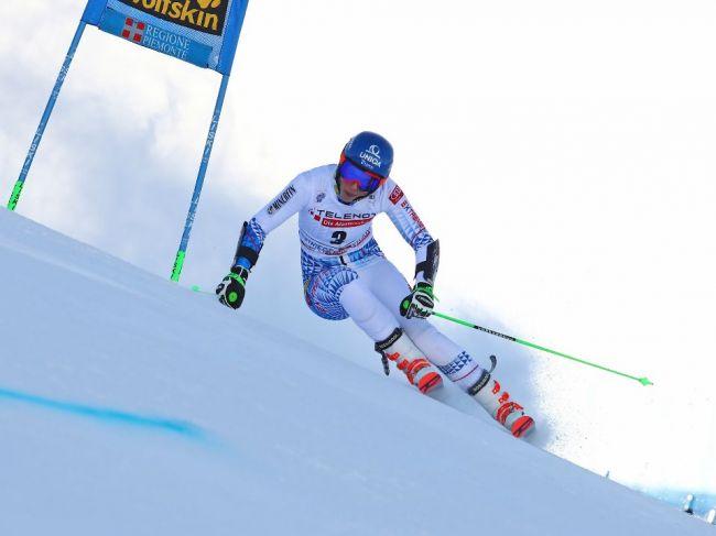 Vlhová vyhrala obrovský slalom spoločne s Brignoneovou