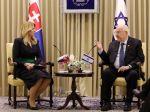 Prezidentka SR navštívila v Jeruzaleme posvätné miesta kresťanstva a judaizmu