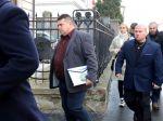Súd uznal Antona Grňa vinným, na verejnosti pozdravil 'Na stráž!'