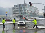 Štrajk autodopravcov je už aj v Ružomberku, polícia odporúča vyhnúť sa mestu