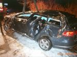 FOTO: Pri dopravnej nehode zomrela 42-ročná vodička